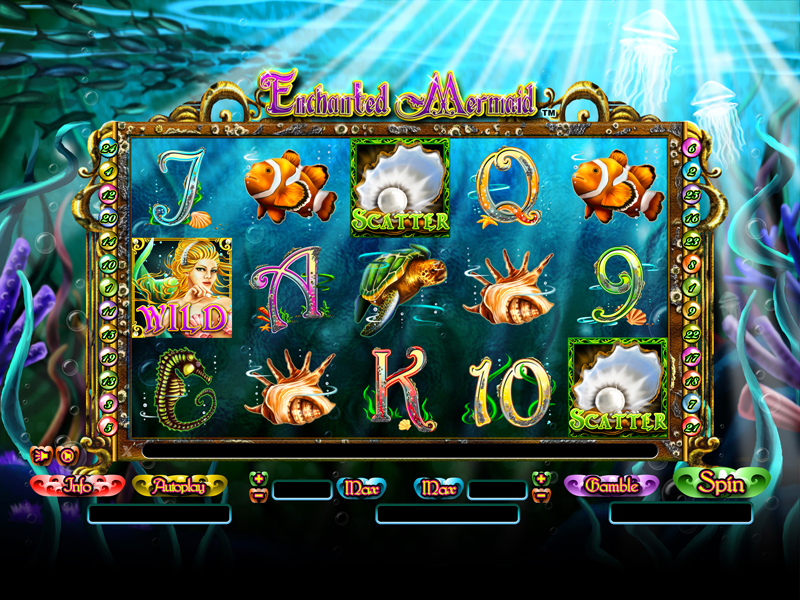 Enchanted Mermaid online casino