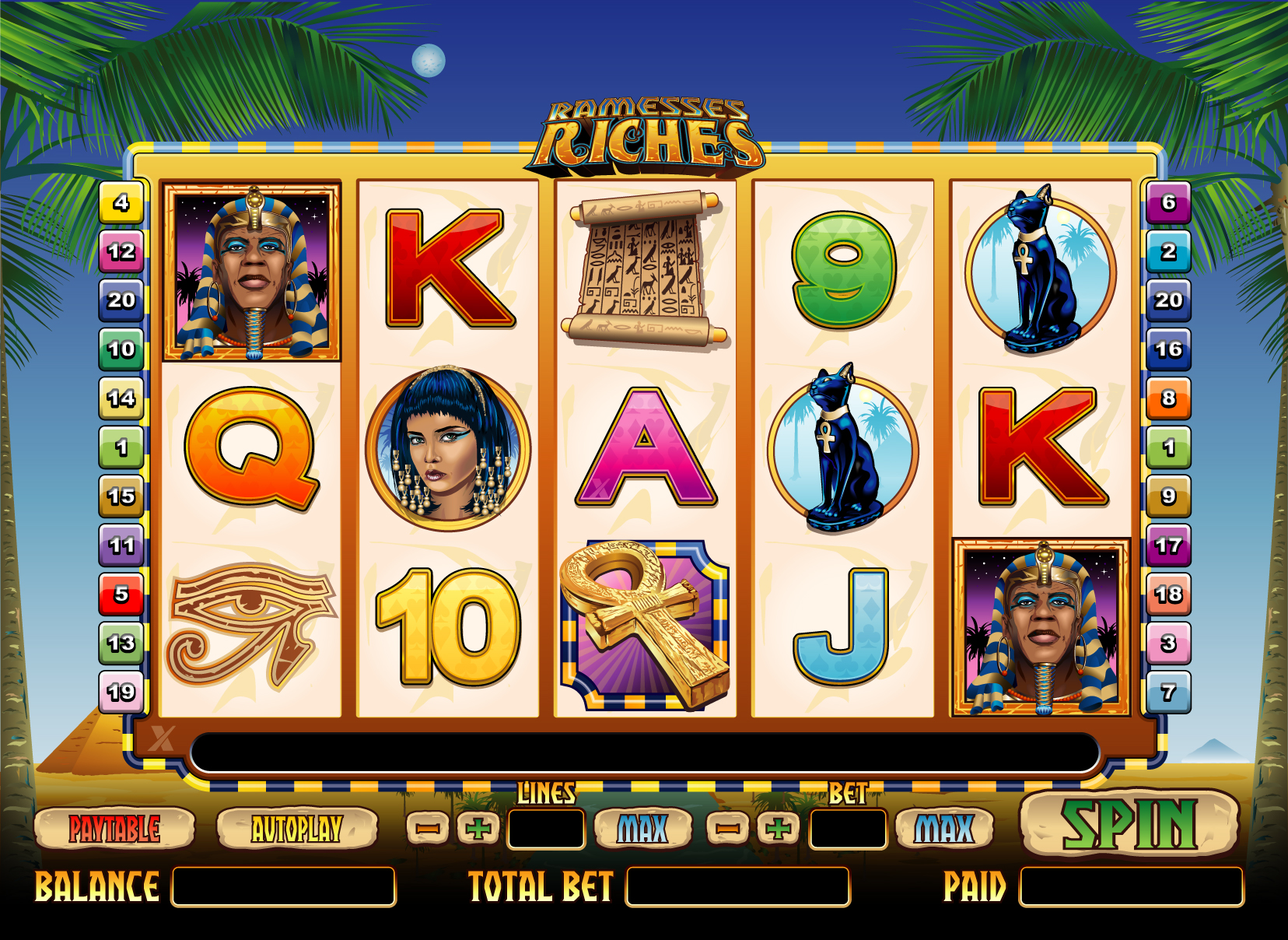 Ramesses Riches casino